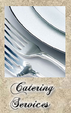 Ferro Italian Restaraunt Catering Menu.  Catering events from 5 to 100 people